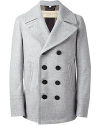 How to Wear a Grey Pea Coat (29 looks) | Men's Fashion