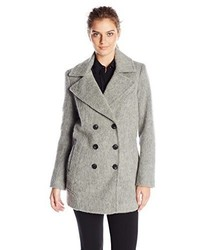 Andrew Marc Marc New York By Effie Brushed Wool Blend Double Breasted Coat