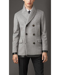 Grey Pea Coats for Men | Men's Fashion