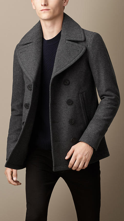 Burberry Wool Cashmere Pea Coat | Where to buy & how to wear
