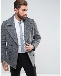 Gianni Feraud Boucle Double Breasted Peacoat
