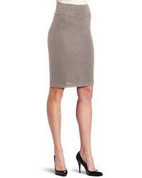 Double knit knee length pencil skirt medium 128589
