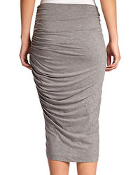 Alice   Olivia Ruched Stretch Jersey Pencil Skirt | Where to buy ...