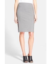 Stretch wool pencil skirt medium 154325