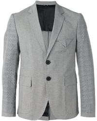 Andrea Pompilio Gingham Plaid Sleeves Blazer