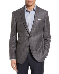 Ted Baker London Tom Trim Fit Plaid Wool Sport Coat