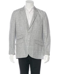 Robert Graham Matrip Sunny Linen Plaid Sport Coat