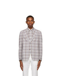 Ermenegildo Zegna Multicolor Pure Cotton Blazer
