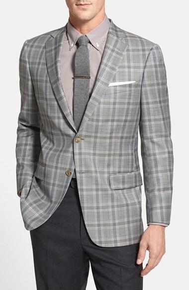Hart Schaffner Marx New York Classic Fit Plaid Wool Sport Coat ...