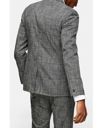 Topman Single Breasted Skinny Fit Blazer
