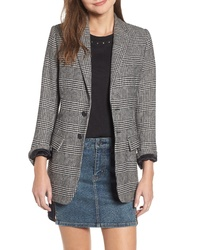 Current/Elliott The Calla Houndstooth Blazer