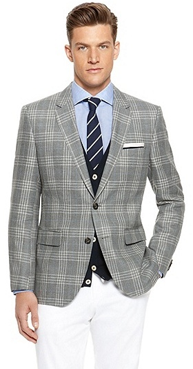 Hugo Boss The James Regular Fit Linen Virgin Wool Plaid Sport Coat ...