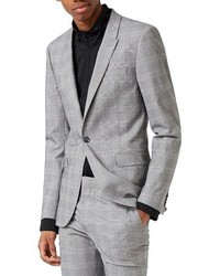 Ultra skinny fit check suit jacket medium 4991753