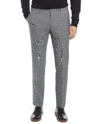 BOSS Ben Plaid Wool Pants