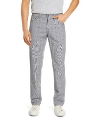 Brax Cooper Fancy Summer Check Five Pocket Pants