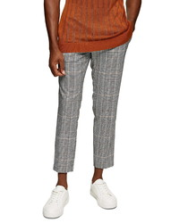 Topman Whyatt Check Trousers
