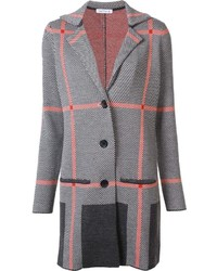 Belford Plaid Cardi Coat