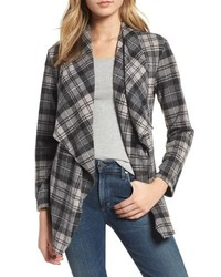 Brave heart plaid knit jacket medium 8697862