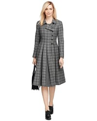Brooks Brothers Wool Plaid Coat