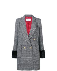 Forte Dei Marmi Couture Glen Check Coat