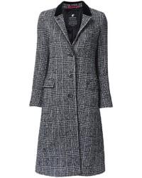 Loveless Plaid Mid Coat