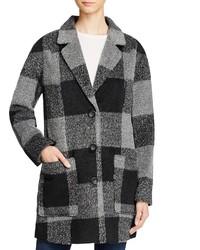 Levi's Oversized Boyfriend Plaid Coat