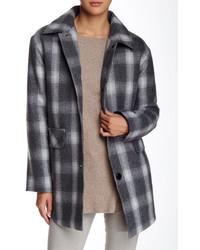 Pendleton Wool Blend Shirting Plaid Coat