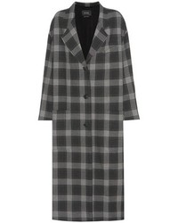Isabel Marant Plaid Coat