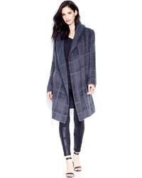 Rachel Roy Rachel Plaid Sweater Coat
