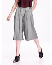 High rise pleated culottes medium 331475