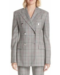 Calvin Klein 205w39nyc Plaid Wool Jacket