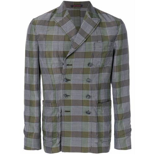 The Gigi Checked Straight Fit Jacket