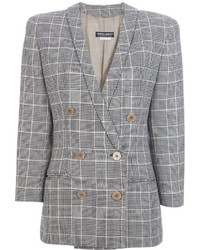 Giorgio Armani Vintage Checked Jacket