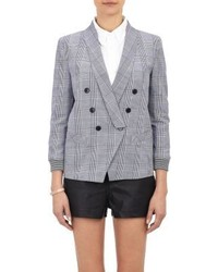 Band Of Outsiders Glen Plaid Blazer
