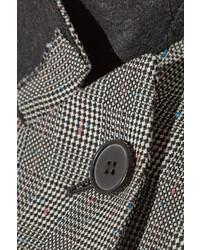 Alexander McQueen Glen Plaid Wool And Mohair Blend Blazer