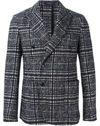 Jeordie's Checked Double Breasted Blazer