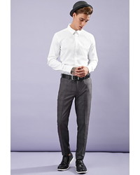 21men 21 Creased Plaid Trousers