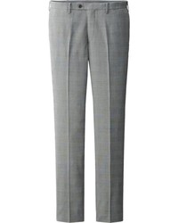 Uniqlo Dry Stretch Wool Like Checked Pants