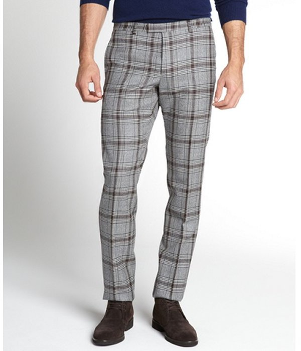 Gucci Grey Plaid Wool Pants | Where to buy & how to wear