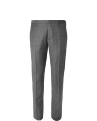 Paul Smith Grey Soho Slim Fit Puppytooth Wool Suit Trousers