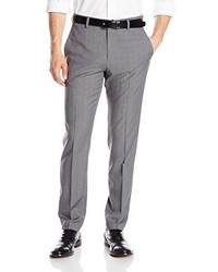 Haggar Tall Repreve Eclo Stretch Heathered Plaid Plain Front Dress Pant