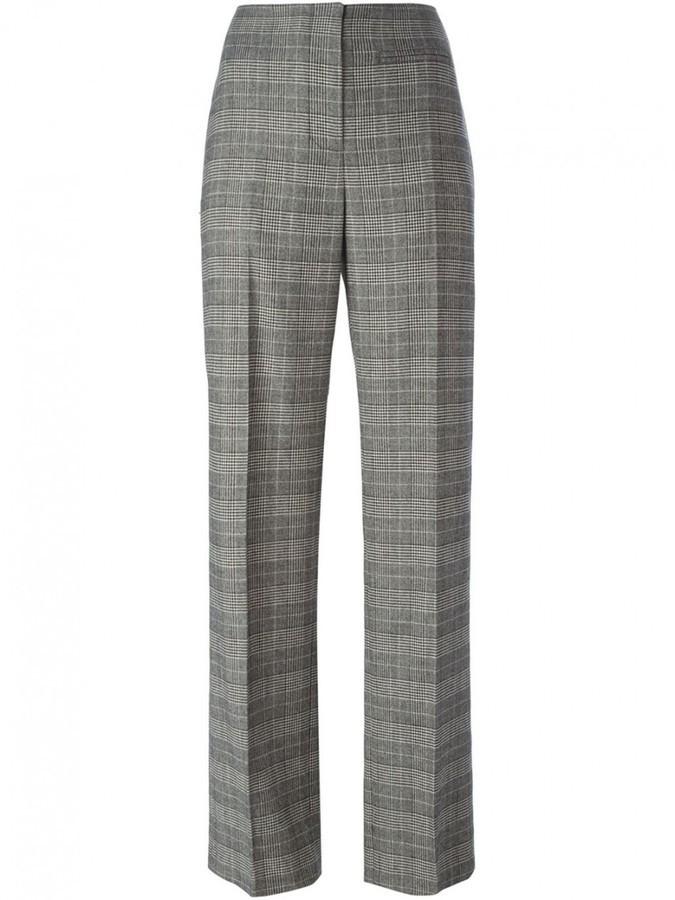 ... Alexander Wang Optic Plaid Tailored Pants