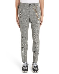 Versace Prince Of Wales Dress Pants