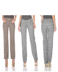 Stanzino Career Plaid Pants