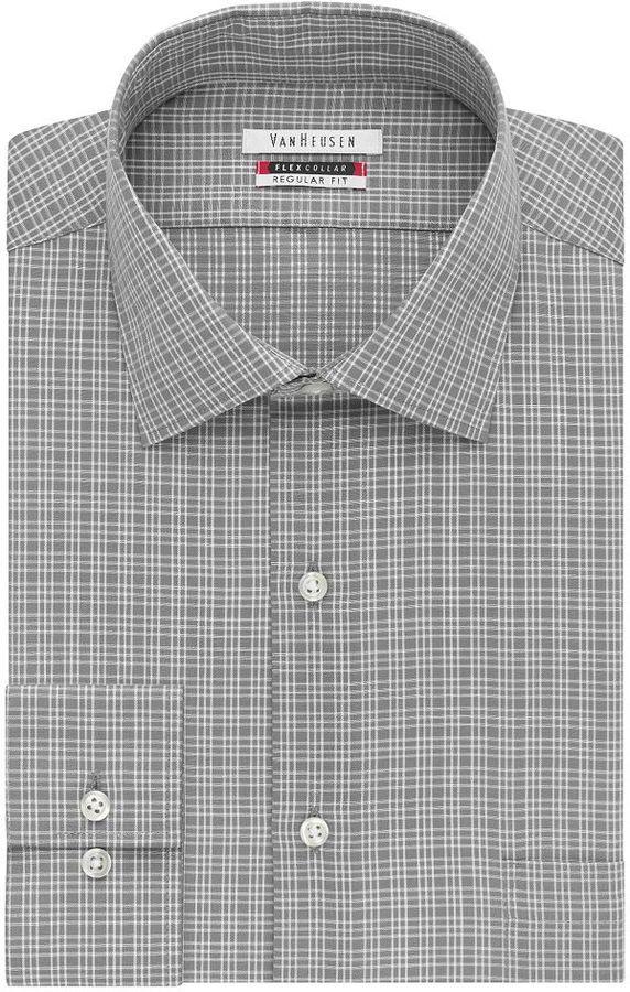 9cb687f819 ... Van Heusen Flex Collar Classic Fit Dress Shirt ...
