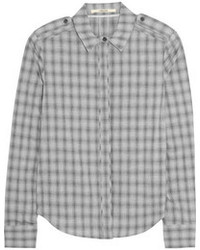 J Brand Vika Plaid Cotton Shirt