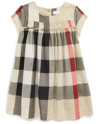 Burberry Ariadne Check Woven Dress