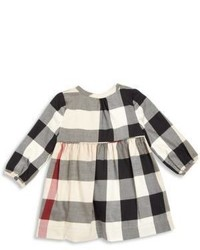 Burberry Babys Toddler Girls Emalie Check A Line Dress