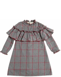 La Stupenderia Cotton Blend Flannel Dress