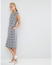 Tux dress in grid check medium 823770